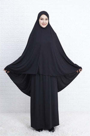 Lycra Prayer Clothes - Black - Divinity Collection