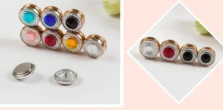 Magnetic Hijab Crystal Rhinestone Pins - Divinity Collection