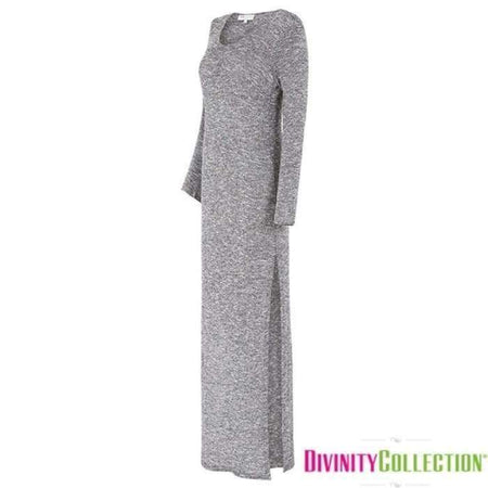 Marble Maxi Split Dress - Divinity Collection