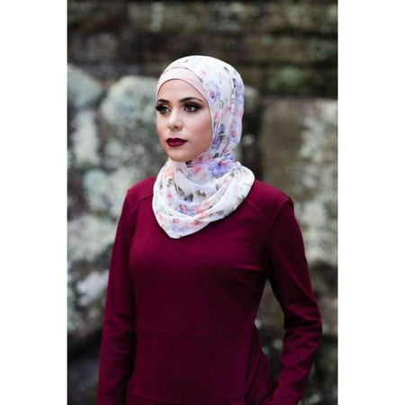 Maroon Pocket Dress - Divinity Collection