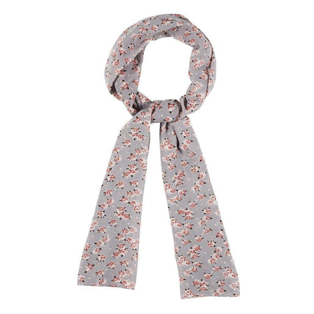 Mocha Small Floral Hijab - Divinity Collection