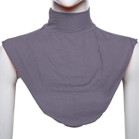 Modal Neck Cover - Charcoal - Divinity Collection