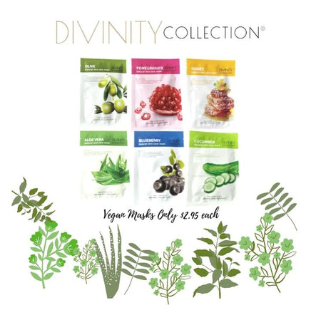 Natural Vegan Facial Skin care Mask - Divinity Collection