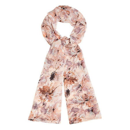 Pastel Abstract Floral Hijab - Divinity Collection