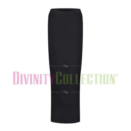 Pencil Jersey Skirt - Black - Divinity Collection