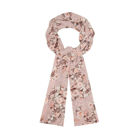 Pinky Nude Floral Hijab - Divinity Collection