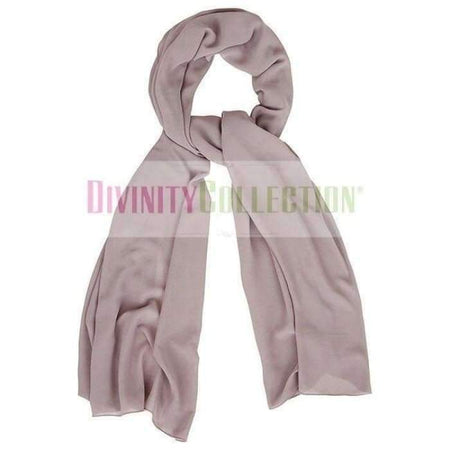 Plain Chiffon Dusty Purple Hijab - Divinity Collection
