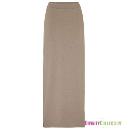 * Ponte beige Pencil Skirt - Divinity Collection