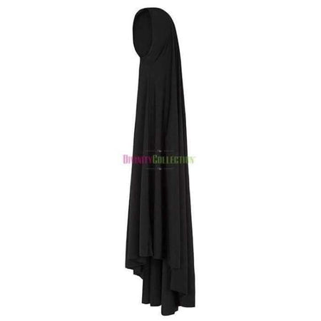 * Premium Black Jilbab - Divinity Collection