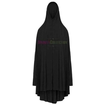 * Premium Black Jilbab with Sleeves - Divinity Collection