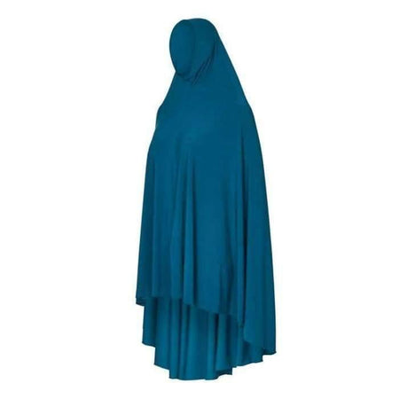 * Premium Deep Dark Teal Jilbab - Divinity Collection