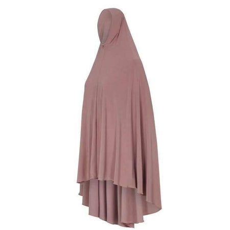 * Premium Dusty Pink Jilbab with Sleeves - Divinity Collection