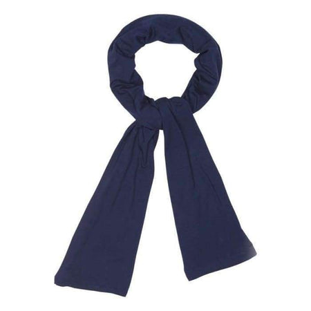 Premium Navy Cotton Jersey Hijab - Divinity Collection