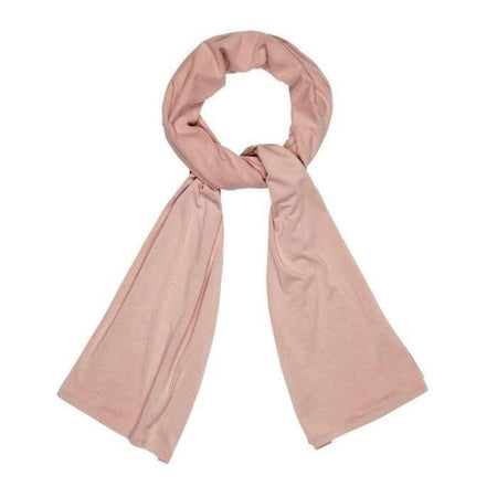 Premium Rose Quartz Cotton Jersey Hijab - Divinity Collection