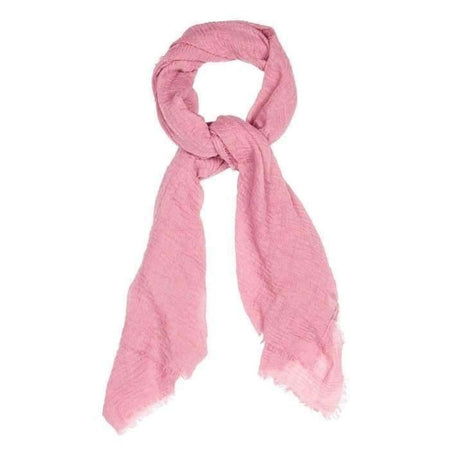 Rose Pink Crinkle Hijab - Divinity Collection