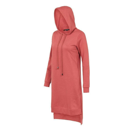 Salmon Side Split Hoody Jumper - Divinity Collection