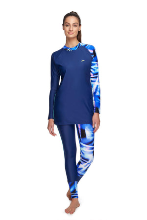 Speedo Modesty Swim Tunic (Mariner/Rays) - Divinity Collection