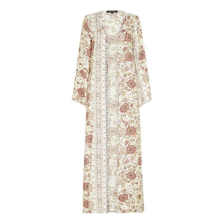 Summer Floral Maxi Cape - Divinity Collection