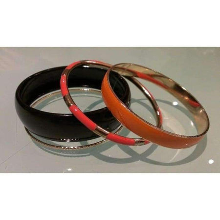 Tangerine 4pc Bangle Set - Divinity Collection