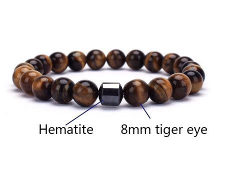 Tiger Eye Rock Beaded Bracelet - Divinity Collection