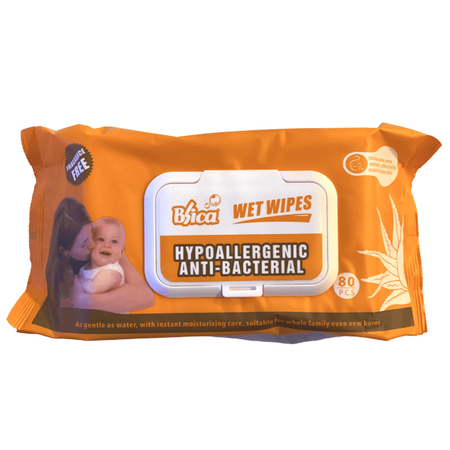 Wet Wipes 80 Sheets - Divinity Collection