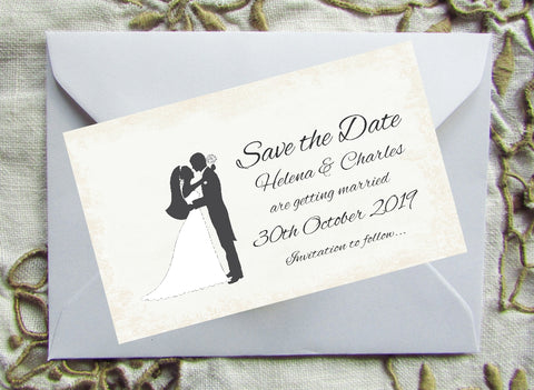 051 Loving Hug Save the Date Magnet