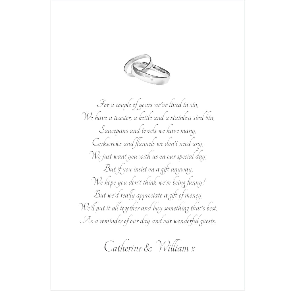 005 Two Rings Portrait Poem Cards