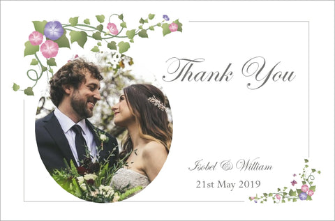 041 Ivy Corners Photo Thank You Cards