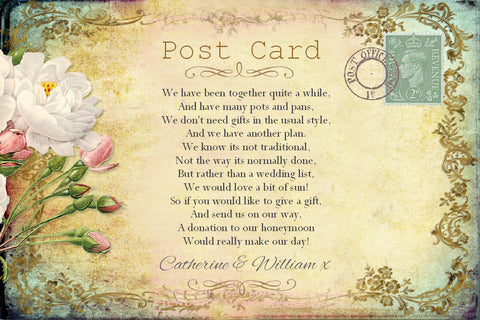 029 Cottage Garden Poem Cards