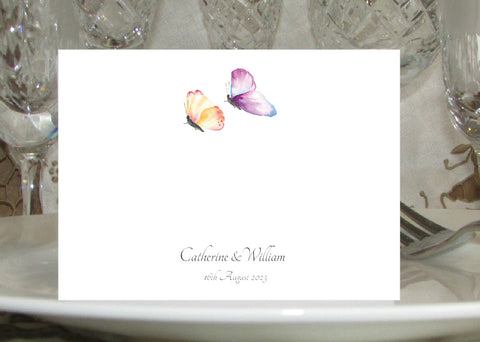 010 Butterfly Place Cards