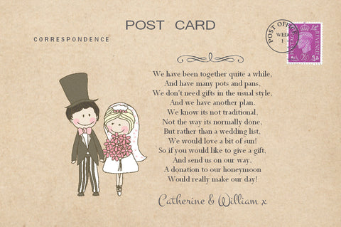 006 Cute Couple Poem Cards