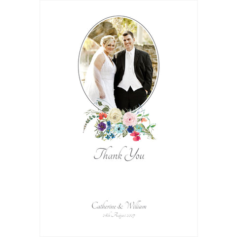 015 Happy Ever After Photo Thank You Cards