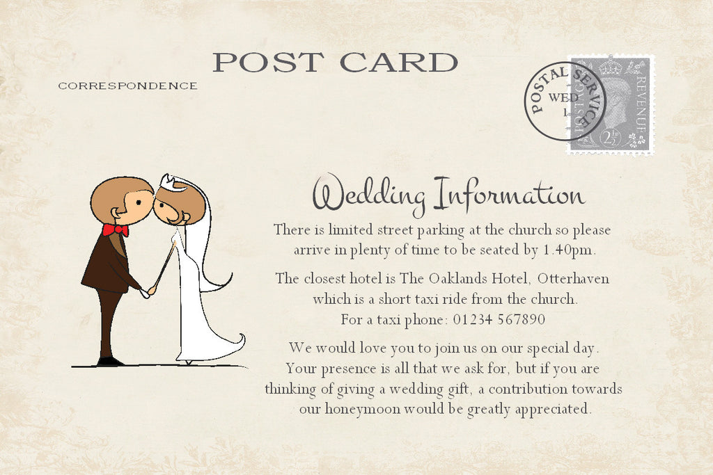 034 Couple Kissing Information Cards