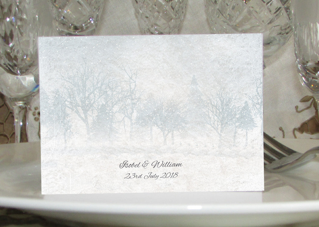 022 Frosty Wonderland Place Cards