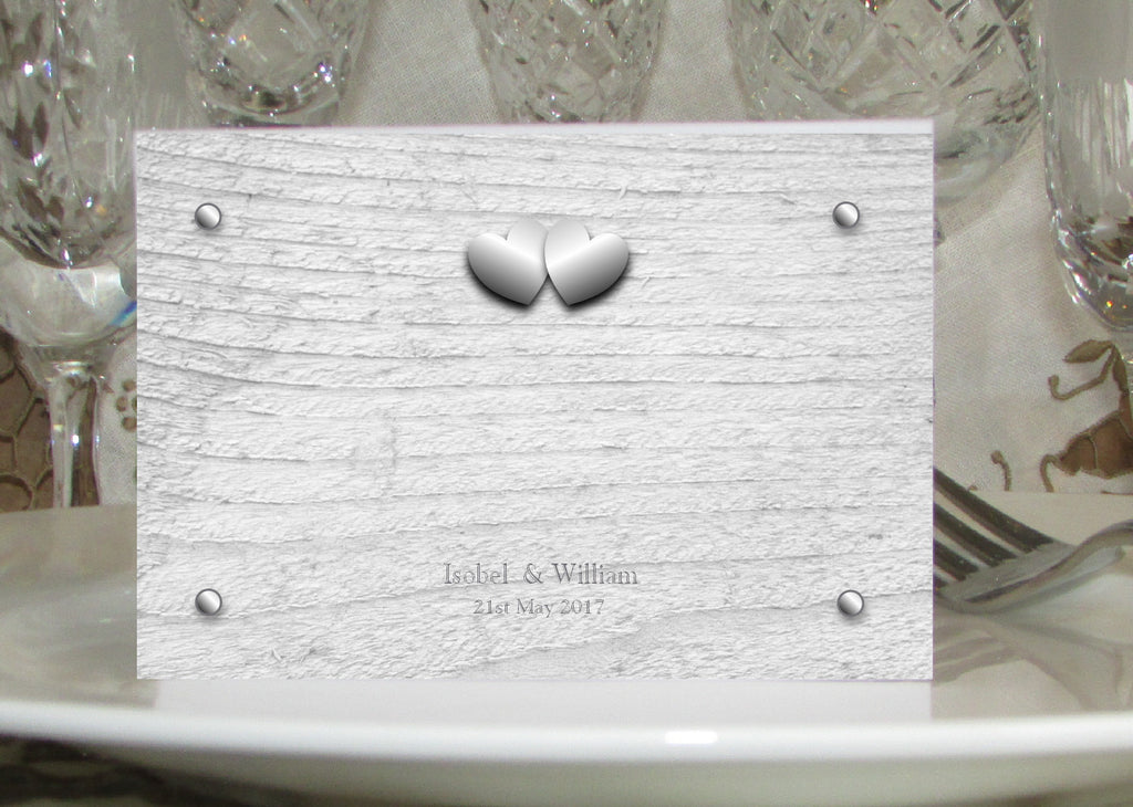 009 Rustic Hearts Place Cards