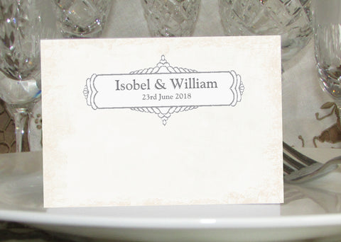 028 Classic Place Cards