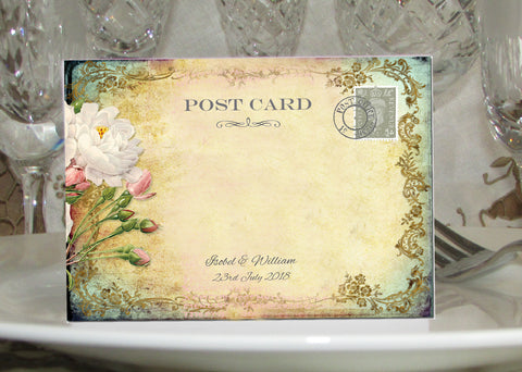 029 Cottage Garden Place Cards
