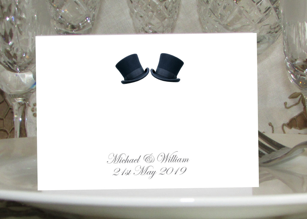 081 Top Hats Place Cards