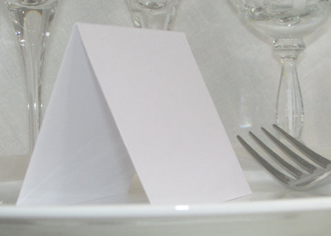 053 Pink Corners Place Cards