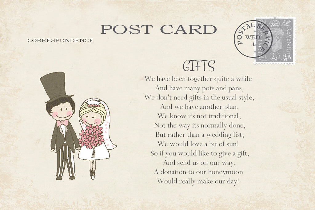 071 Shabby Couple Poem Cards