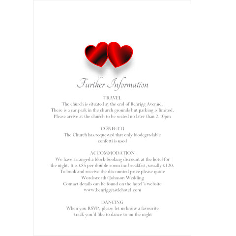 024 Red Hearts Portrait Information Cards