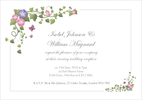 041 Ivy Corners Wedding Invitations