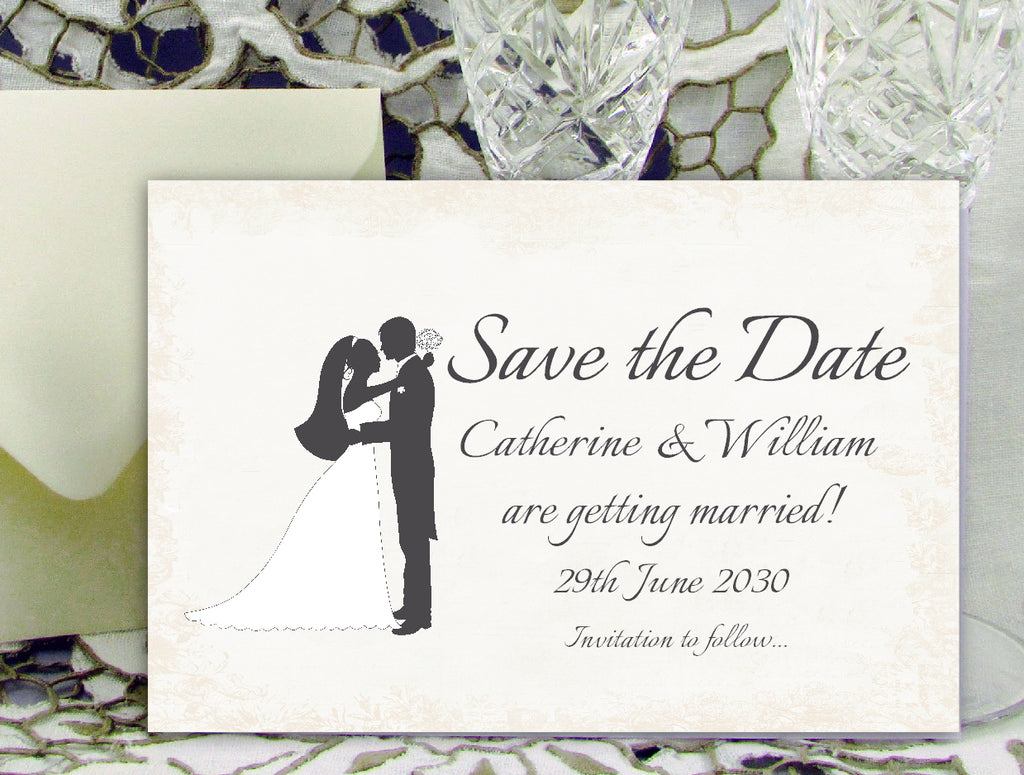 051 Loving Hug Save the Date Card