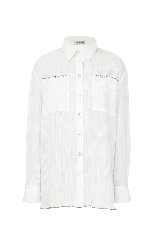 Milk Frilled Shirt