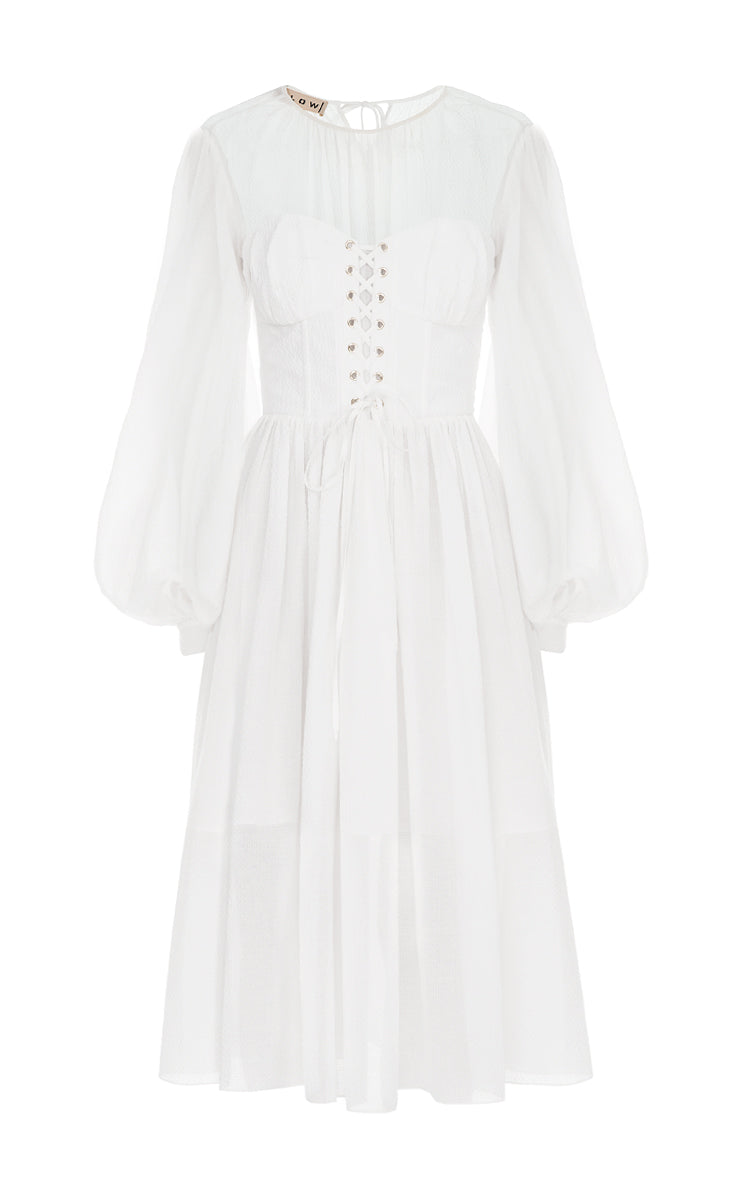 corset dress - White Flow The Label Free Shipping Affordable Release Dates Cheap Price Outlet Best Choice Clearance Cheap Online eCBoac