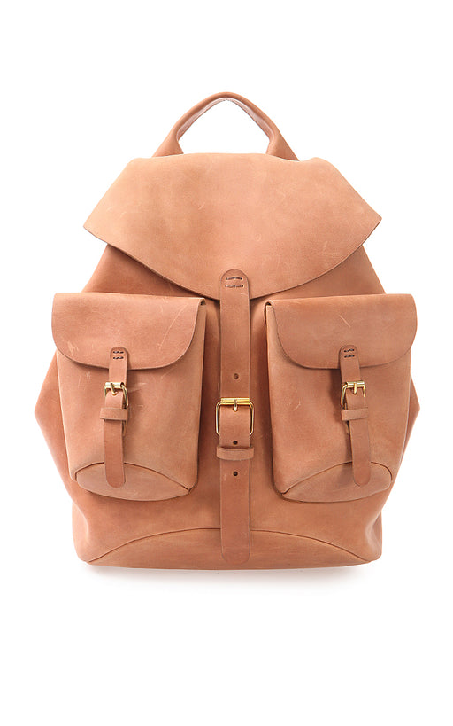 Big Leather Backpack