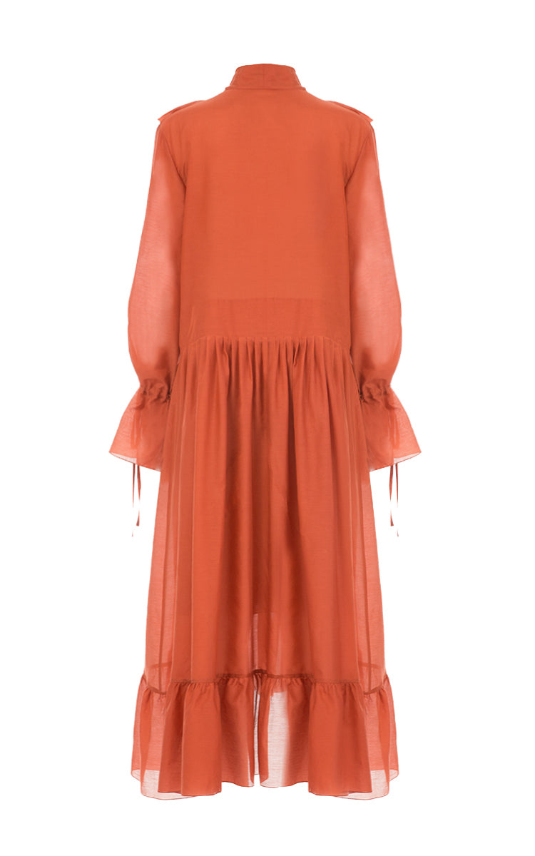 Pleated Dress