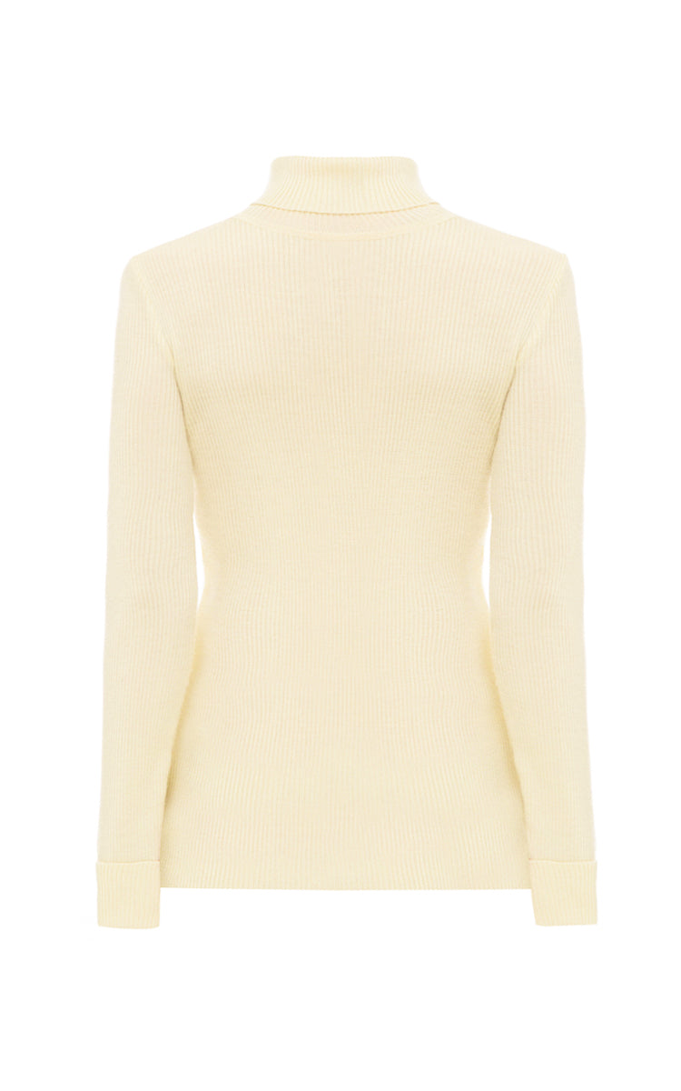 Lemon turtleneck