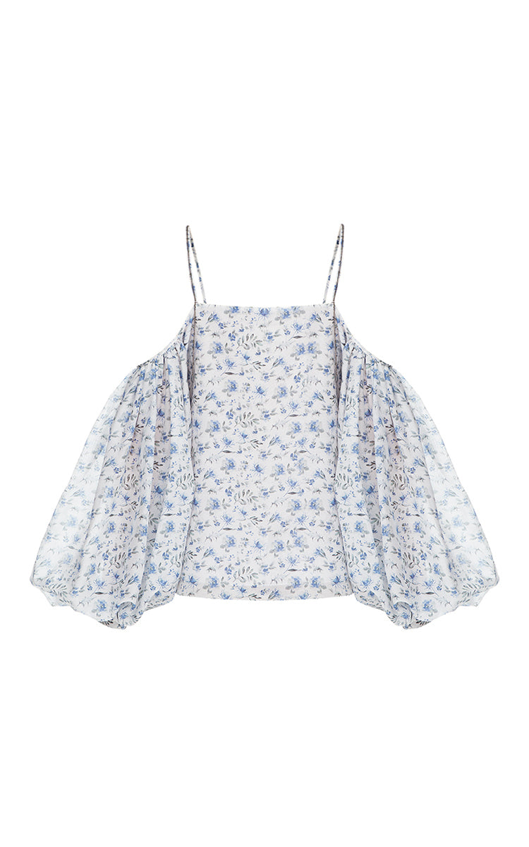 Long Sleeve Floral Summer Top