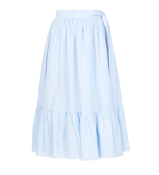 Cotton Blue Skirt